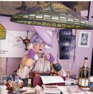 Anna Piaggi, Quelle: Pinterest