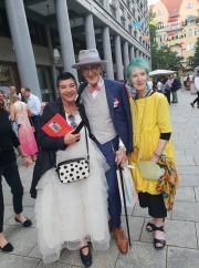 mit Brigitta Kuesgen und Günther Krabbenhöft
