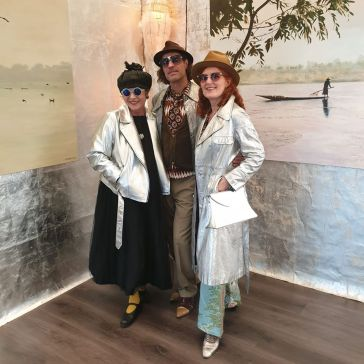 Mit Lili Nalovi und Jesko Willert